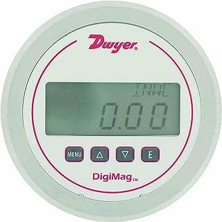 Dwyer DigiMag Series DM-1000 Differential Digital Pressure Gauge, Range 0-0.25