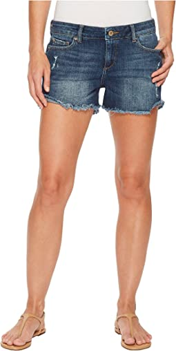 Karlie Boyfriend Shorts in Bluegrass