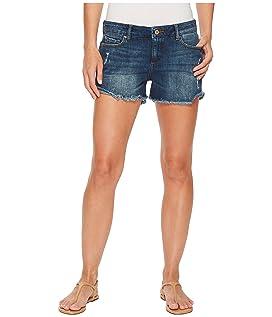 Karlie Boyfriend Shorts in Bluegrass