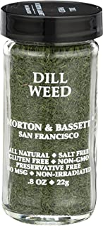Morton & Basset Spices, Dill Weed, 0.8 Ounce
