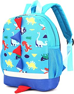 Toddler Kid Child Backpack with Safety Harness Leash Animal Dragon Daycare Bag