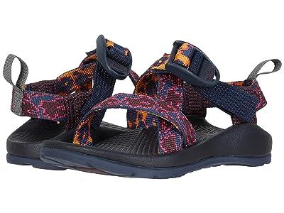 Chaco Kids Z1 Ecotread (Toddler/Little Kid/Big Kid) (Vacio Navy) Girls Shoes