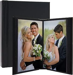 Neil Enterprises, Inc Leather Self-Stick Photo Album (Black, 10