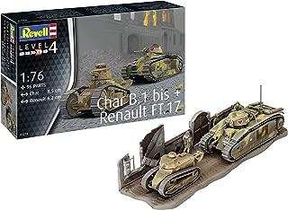 Revell Kit 1:76 - Char B.1 Bis & Renault Ft.17
