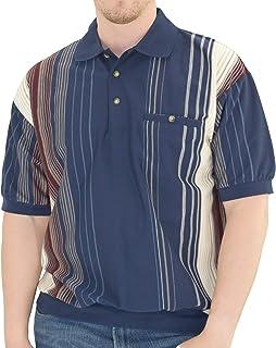 Men/'s Fleece Shirt Size 6X Contrasting Black /& Blue by Palmland