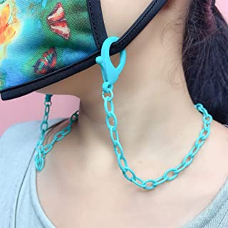 Libeauty Lanyard for Face Mask Chain with Clips Anti-Lost Mask Holder Beautiful Comfortable Around The Neck for Adults Kid...