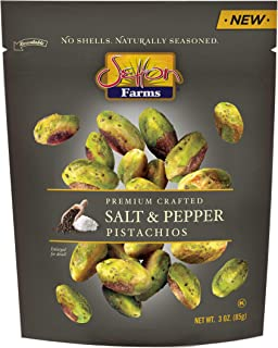 Setton Farms Seasoned Pistachio Kernels, Salt & Pepper, 3 oz