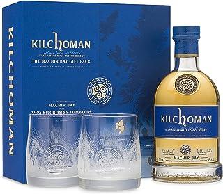 """Kilchoman """"Machir Bay"""", Gift Pack mit 2 Gläser, 46% Geschenkset"""