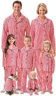 PajamaGram Matching Family Christmas Pajamas - Matching Christmas Pajamas, Red