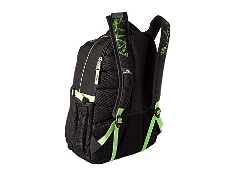 Free Shipping Lowest Price Official Site For Sale High Sierra Swerve Backpack Black/Lime Fire/Lime Best Place Cheap Online M7HWz