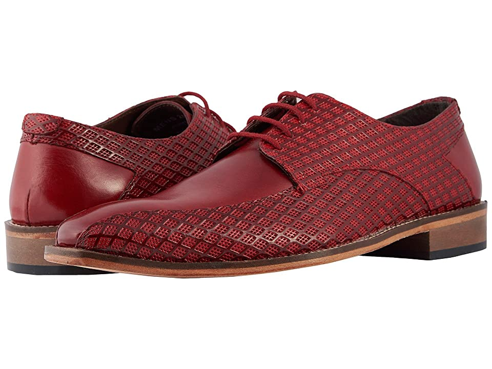 Stacy Adams Gianluca Bike Toe Oxford (Red) Men