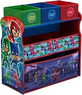 Delta Children 6-Bin Toy Storage Organizer, PJ Masks