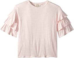 People's Project LA Kids Cha Cha Knit Top (Big Kids)