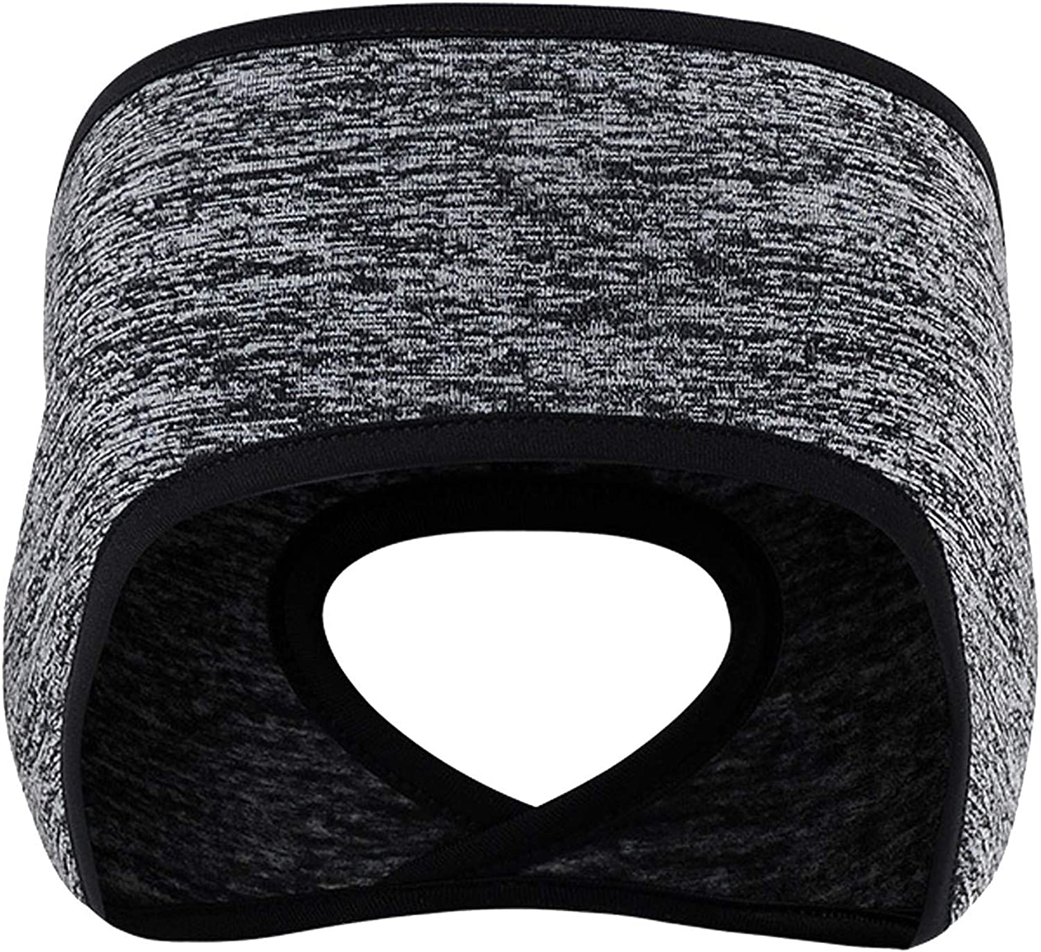 Winter Ear Warmers for Women Stretchy Elastic Earmuffs Ponytail Headband for Cold Thermal Workout Running Cycling