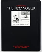 Cartoons from The New Yorker 16-Month 2019-2020 Weekly Planner Calendar: Sept 2019-Dec 2020