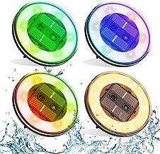 ionlyou 【4 Pack】 Smart Solar Lights Outdoor, 18 LED Multifunction Waterproof Lights,Solar Garden Lights,Solar Pathway Lights W/Sensor for Backyard,Lawn,Garden,Pathway