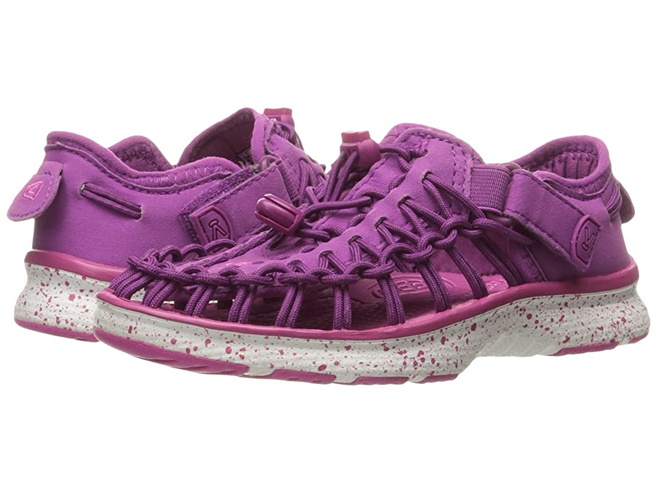 Keen Kids Uneek O2 (Toddler/Little Kid) (Purple Wine/Verry Berry) Girl