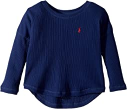 Polo Ralph Lauren Kids - Waffle-Knit Long Sleeve Top (Toddler)