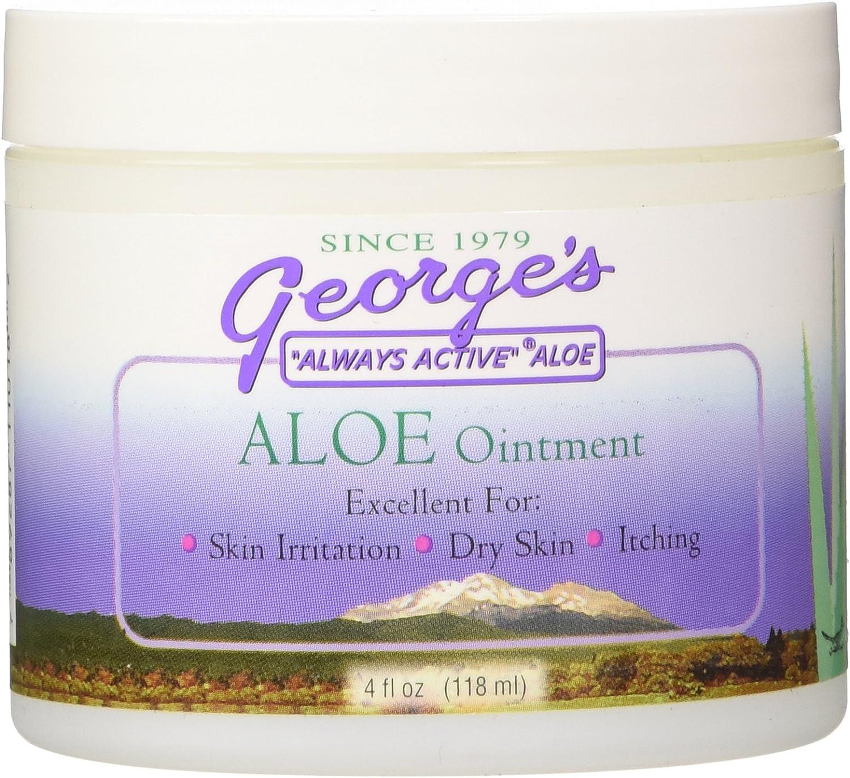George's Aloe Vera Ounce Portland Mall Ointment 4 Daily bargain sale