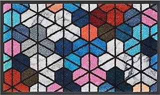 Sponsored Ad - OEMATS Door Mat Front Indoor Outdoor Doormat,Super Absorbent Door Mat Washable Floor Rug Heavy Duty Rubber ...