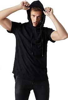 Best short sleeve hooded t shirt men Reviews