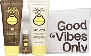 Sun Bum Premium Day Tripper | Travel-Sized Sun Care Pack with Moisturizing Sunscreen Lotion, Sunscreen Lip ...