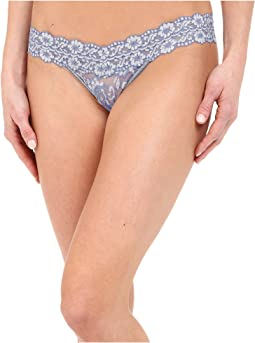 Hanky Panky Cross-Dyed Signature Lace Low Rise Thong