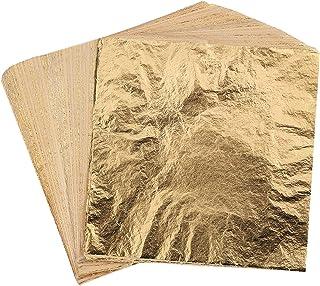 500 Hojas Chapa de metal Oro imitación Color como oro rojizo Cobre
