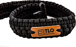 TLO Outdoors Paracord Gun Sling – Extra Wide, Adjustable 2-Point Paracord Sling..