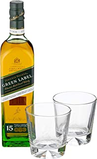Johnnie Walker Green Label 15 Years Old Whisky 1 x 0.7
