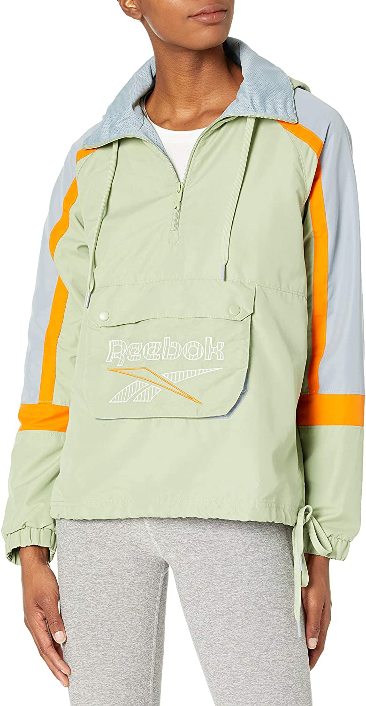Reebok Women's Classics Patch Pocket Hooded Anorak