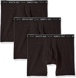 Kenneth Cole New York Men's Underwear Cotton Stretch Boxer Brief, Multipack & Single