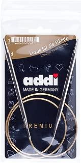 addi Knitting Needle Circular Turbo Rocket Lace Skacel Exclusive Blue Cord 32 inch Size US 07 80cm 4.5mm
