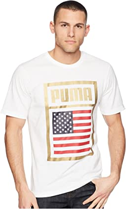 PUMA - Forever Football Country Tee