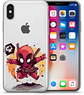 Marvel's Spider-Man, Black Panther, The Punisher, Thanos, Carnage, Venom, Thor, Iron Man, The Hulk, Captain America Jelly Clear Case for Apple iPhone Xs MAX (6.5