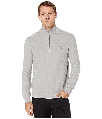 Polo Ralph Lauren Half Zip Sweater (Andover Heather 2) Men