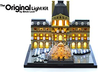 Brick Loot Lighting Kit for Your Lego Louvre Set 21024