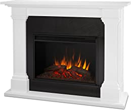 Real Flame 8011E-W Electric 8011E Callaway Grand Fireplace in White, Large