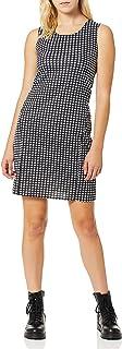 Star Vixen womens Classic Str Ponte Knit Sleeveless Midi-Length Sheath Dress Dress