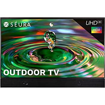 Seura Shade Series 2 75-inch Weatherproof 4K Ultra HD Outdoor TV with Soundbar (2nd Gen)