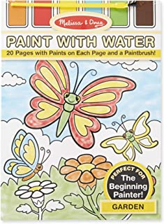 Melissa & Doug Paint With Water Activity Set - Garden - 20 Pages
