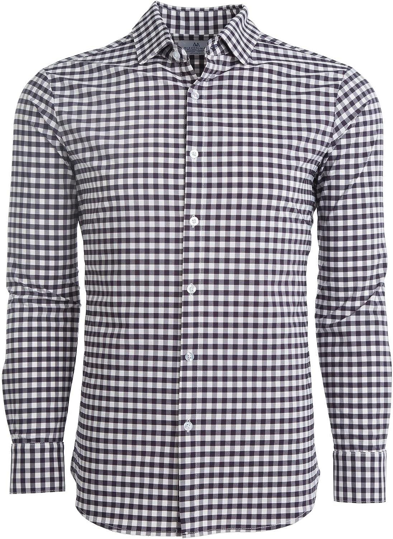 Mizzen + Main Leeward Trim-Button Down Dress Shirt