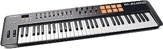 M-Audio اکسیژن 61 MKIV | 61 کلید USB MIDI صفحه کلید و درام پد کنترل (8 پد / 8 Knobs / 9 Faders)، نرم افزار دانلود نرم افزار VIP