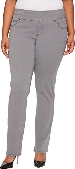 Plus Size Peri Pull-On in Bay Twill