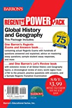 Regents Global History and Geography Power Pack: Let's Review: Global History and Geography + Regents Exams and Answers: Global History and Geography (Barron's Regents NY)