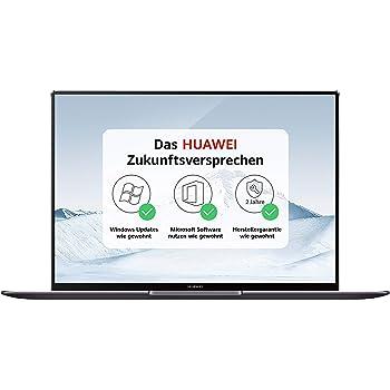 HUAWEI MateBook X Pro 35,31 cm (13,9 Zoll 3K-FullView-Touchscreen-Display) Notebook (Intel Core i5-8250U, 8GB RAM, 256 GB SSD, NVIDIA GeForce MX150 mit 2GB GDDR5, Windows 10 Home) spacegrau