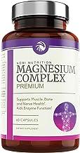 Nobi Nutrition High Absorption Magnesium Complex - Premium Magnesium Supplement for Sleep, Stress & Anxiety Relief, Leg Cr...