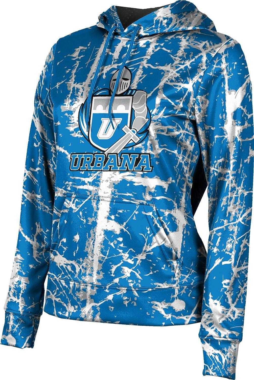 ProSphere Urbana University Girls' Pullover Hoodie, School Spirit Sweatshirt (Distressed)