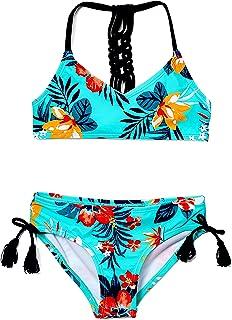 Kanu Surf girls Willow V-neck Bikini Beach Sport 2-piece Swimsuit Two Piece Swimsuit
