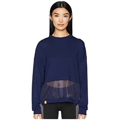 Monreal London Long Sleeve Airstream Sweatshirt (Indigo) Women